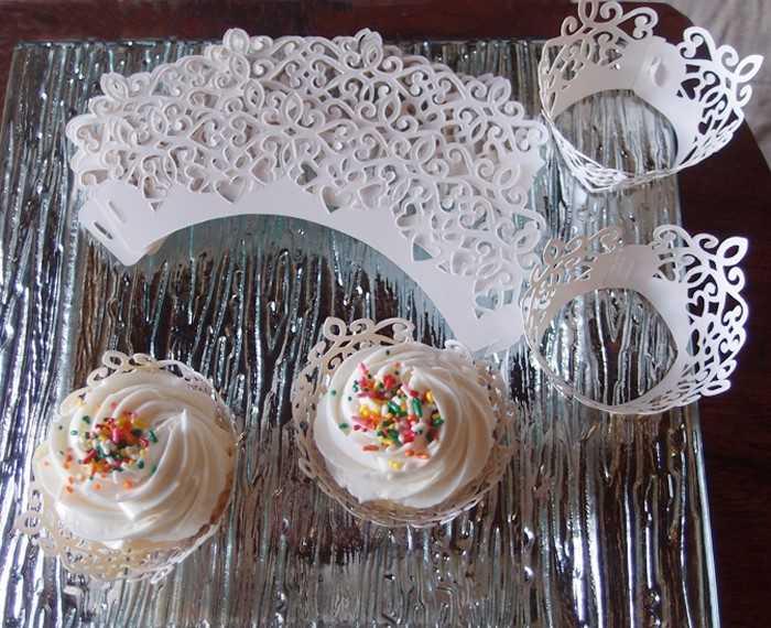 David Tutera Cupcake Wraps