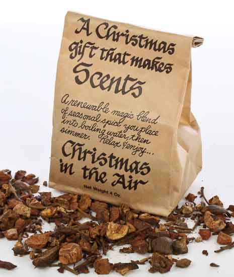 4oz Christmas Is In The Air Simmering Potpourri Vase And Bowl