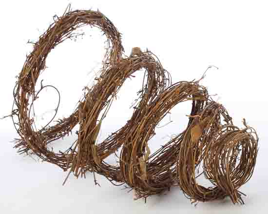 natural grapevine twig garland western theme party special occasions - Grapevine Garland Christmas Decorations