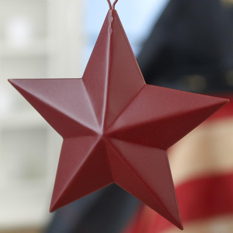 5 Quot Primitive Red Barn Star Barn Stars Primitive Decor