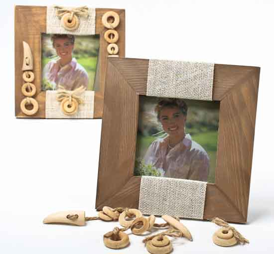 Unfinished wood photo frame kits picture frames home decor for Unfinished wood frames for crafts