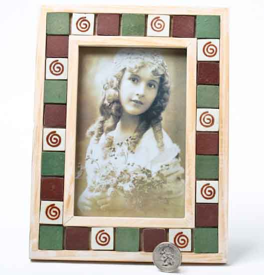 Wood And Ceramic Tile Picture Frame Activity Kits Kids