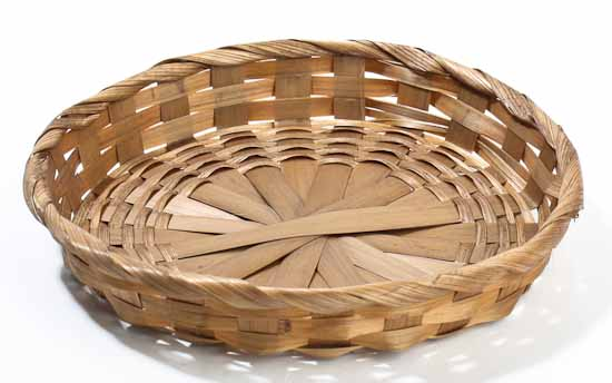 Small Round Woven Basket - Set of 12 - Baskets, Buckets ...