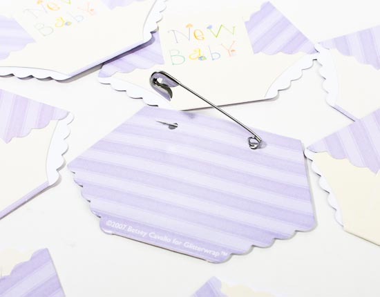 Dirty Diaper Baby Shower Name Tags Party Game Games And Baby