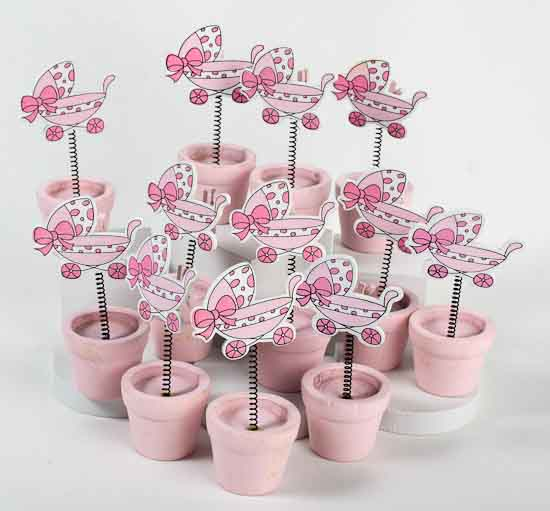 Pink Baby Shower Placecard Holders - 12pcs - It's a Girl! Theme ...