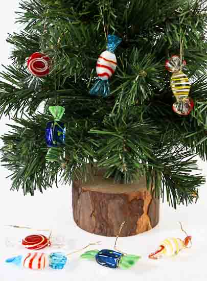 click here for a larger view - Candy Ornaments For Christmas Tree
