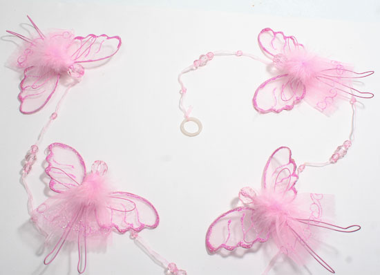 48 Glittery Pink Angel Mobile It S A Girl Theme Baby Shower