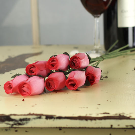 how to make wooden rose buds