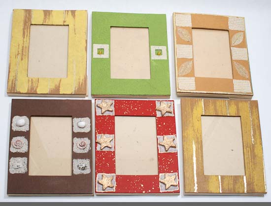 Handmade Paper Crafted Picture Frame - Picture Frames - Home Decor