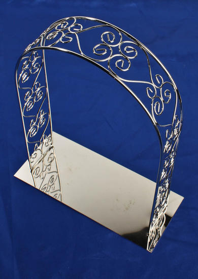 Silver Metal Wedding Arch Centerpiece Sales