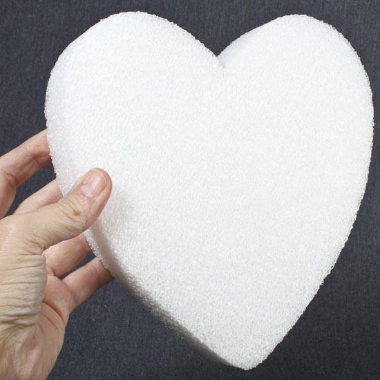 8 styrofoam heart sheet styrofoam basic craft for Soft foam sheets craft