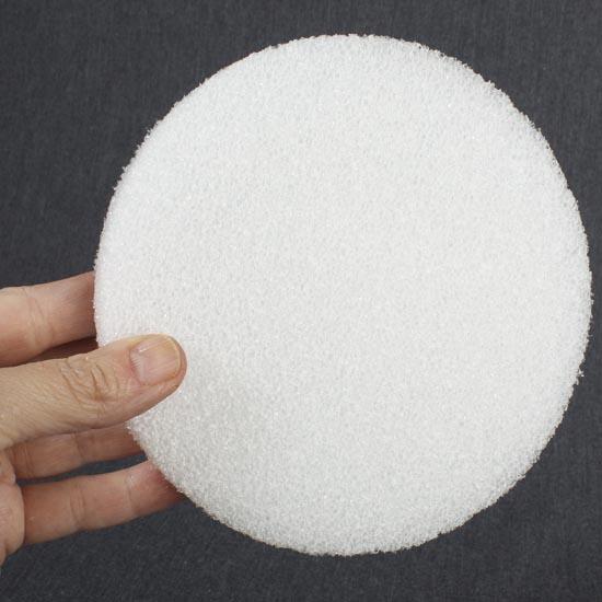 6 Quot Round White Styrofoam Disc Styrofoam Basic Craft