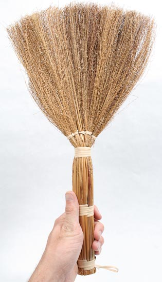 18 Quot Natural Straw Broom Doll Making Supplies Craft