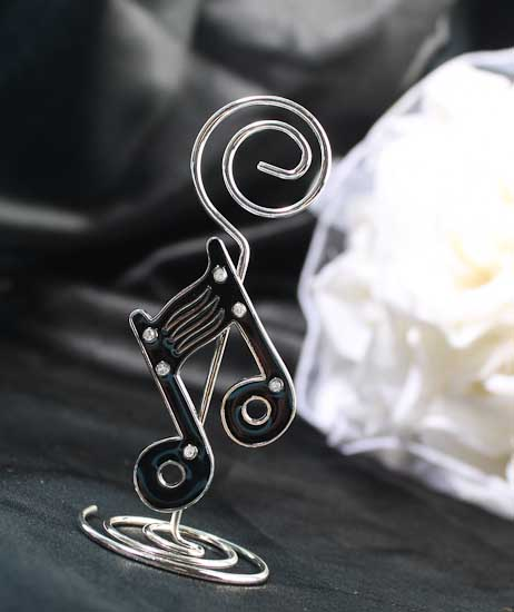Musical Note Placecard Holder