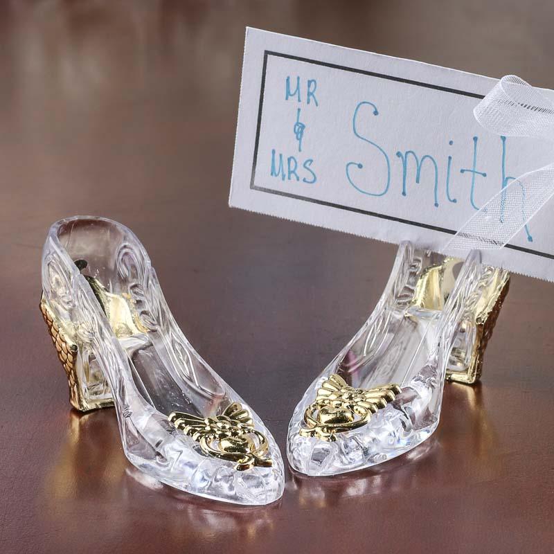 Cinderellas Slipper Placecard Holders