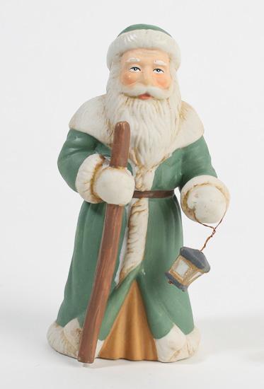 Quot old world ceramic santa figurine christmas and winter