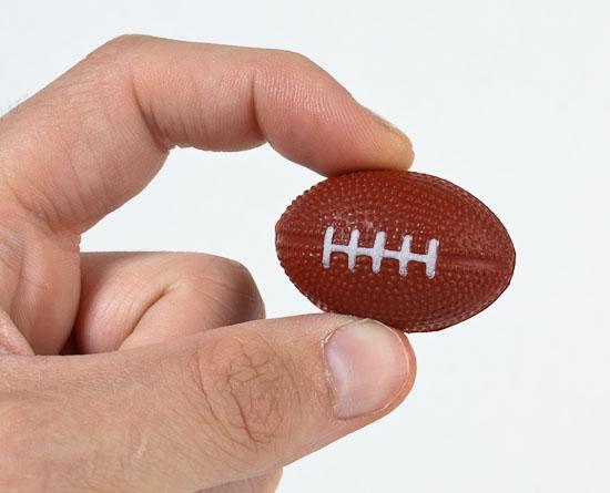 Miniature foam footballs doll accessories doll making supplies