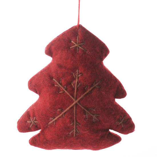 Western Christmas Tree Decorations