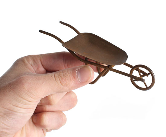 Miniature Wheelbarrow
