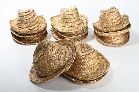 Straw Cowboy Doll Hats - Doll Hats - Doll Making Supplies - Craft ... dd1a17b8c60a