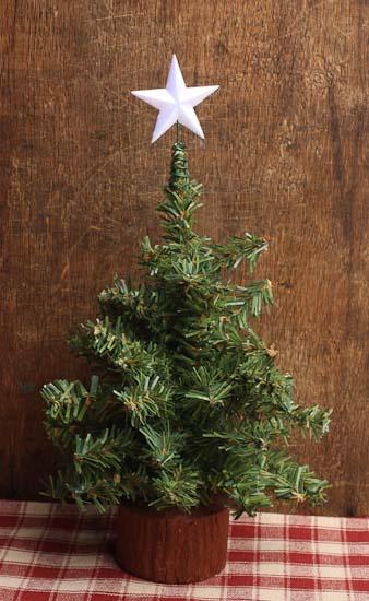 miniature white iridescent star tree topper christmas miniatures dollhouse miniatures doll. Black Bedroom Furniture Sets. Home Design Ideas