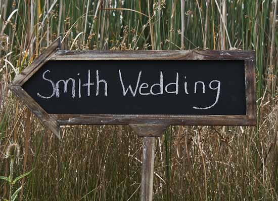 Chalkboard Arrow Sign | Wedding - Cards, Crafts, Gifts ...  |Chalkboard Arrow Sign Plant