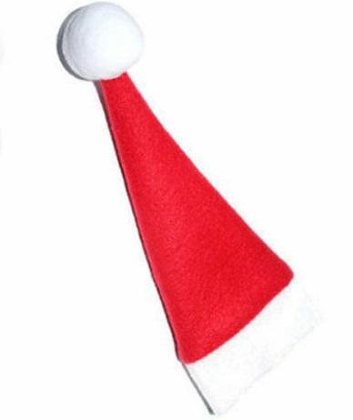 18961497b5f0d Burgundy Fleece Santa Doll Hat - Doll Hats - Doll Making Supplies ...