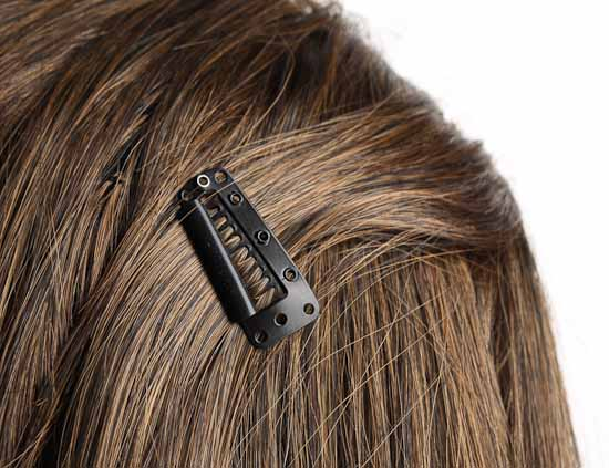 Black metal hinged hair comb clips hair accessories for Metal hair combs for crafts