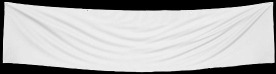White Blank Banner - Sports and Cheerleading - Party & Special ...