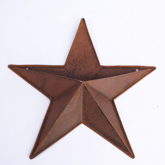 Rustic barn star wall pocket barn stars primitive decor - Stars for walls decorating ...
