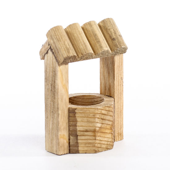 how to make a wooden wishing well