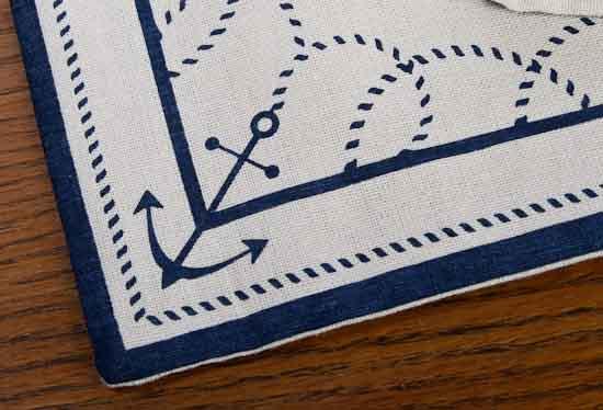 Nautical Border Table Runner