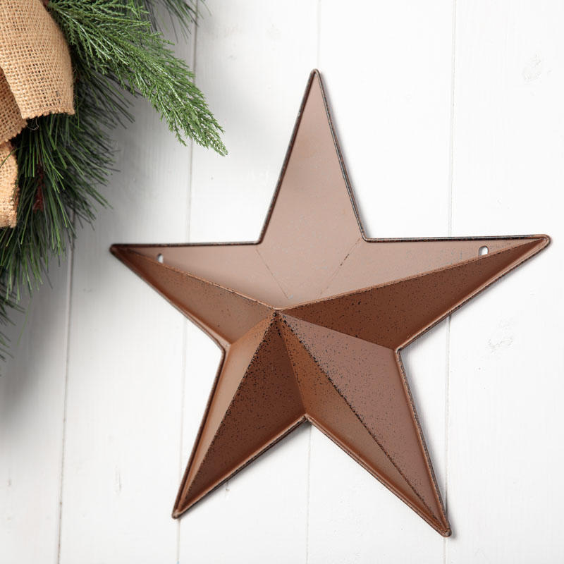 Rustic Barn Star Wall Pocket
