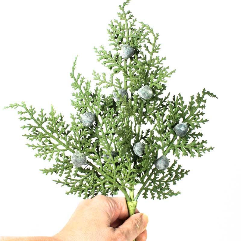 Artificial oregon juniper spray artificial greenery for Oregon craft floral