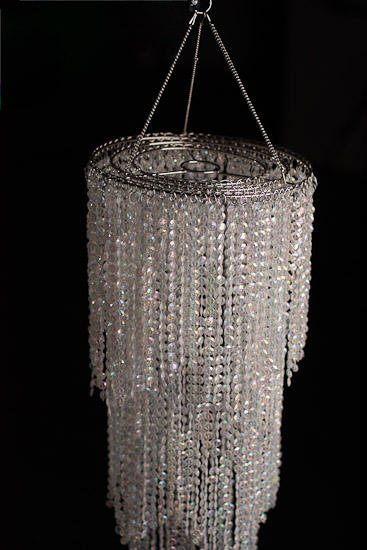 Simply elegant faux crystal decorative chandelier mirrors party click here for a larger view aloadofball Choice Image
