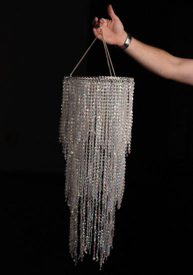 Simply Elegant Faux Crystal Decorative Chandelier
