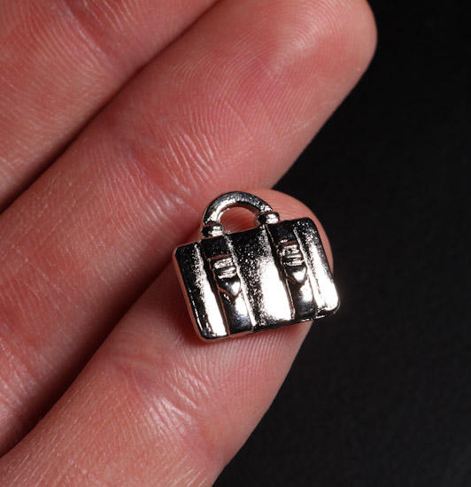 Silver Suitcase Charms Charms Amp Pendants Jewelry