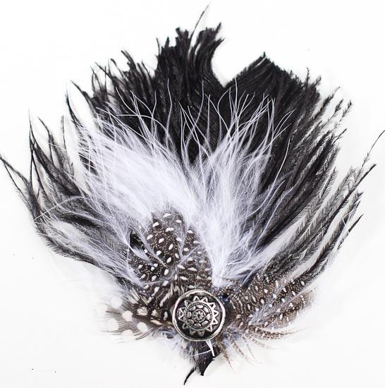 Real Ostrich Dyed Blac...Ostrich Feathers For Sale