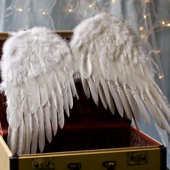 Large White Feather Angel Wings - Angel Wings - Doll Making Supplies ...