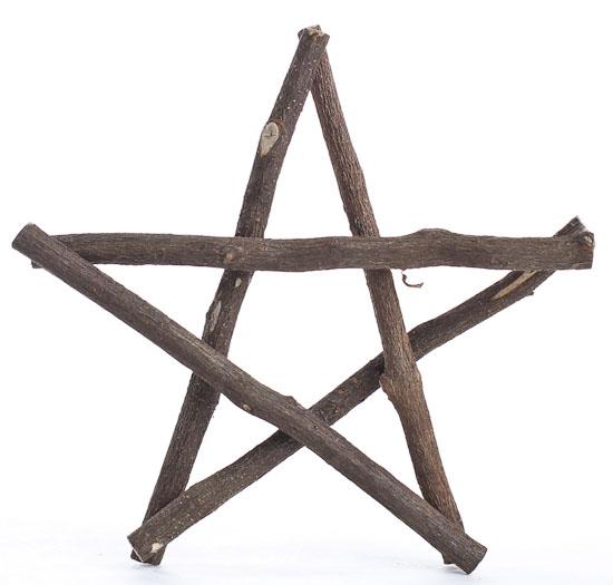 6 Quot Real Twig Rustic Wooden Primitive Star Wall Art