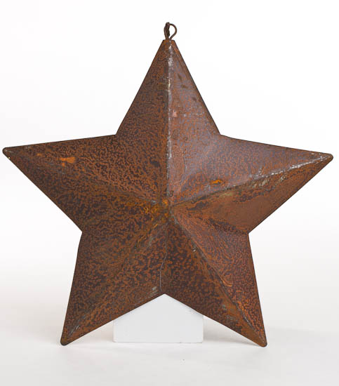 primitive dimensional barn star ornament wall decor