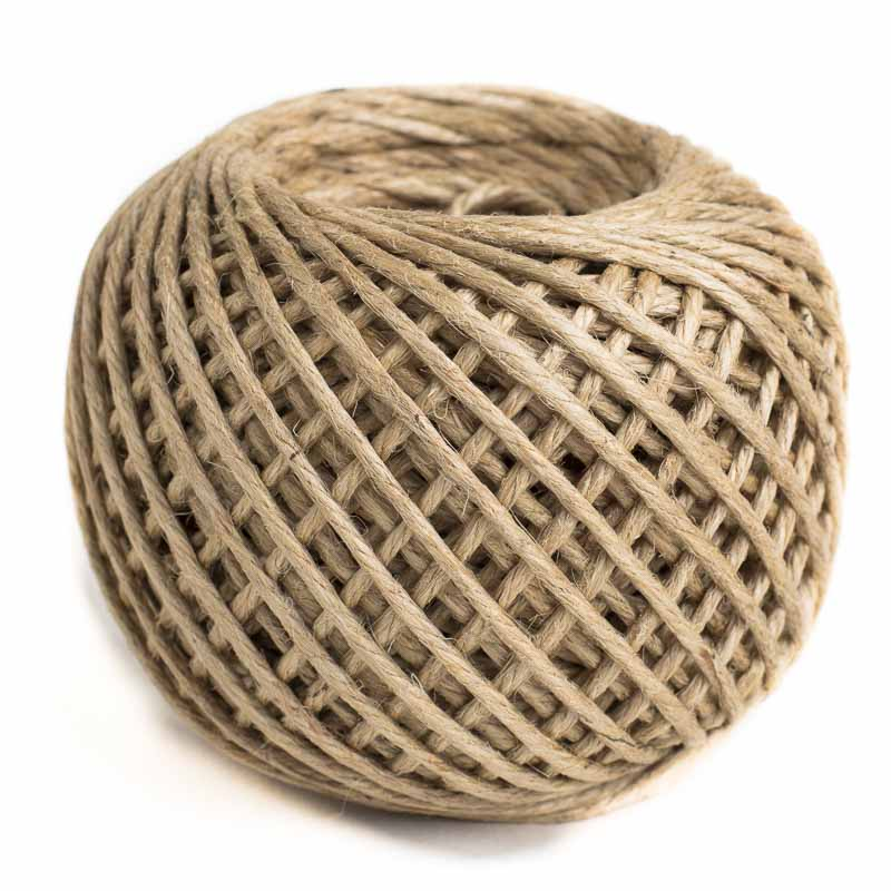 Coated Natural Jute Twine Wire Rope String Basic Craft