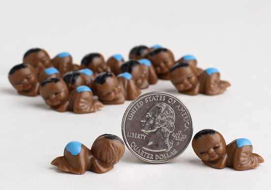 Miniature African American Baby Boy Favors It S A Boy Theme Baby