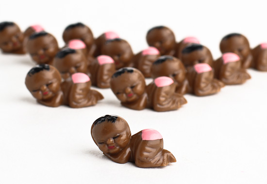Miniature African American Baby Girl Favors It S A Girl