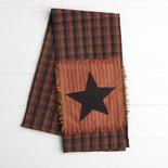 Primitive Star Patchwork Dish Towel