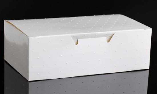 David Tutera Swiss Dot Cake Boxes with Seals - 24pcs