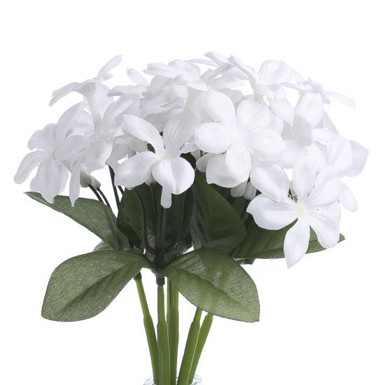 White artificial stephanotis bush bushes and bouquets floral white artificial stephanotis bush bushes and bouquets floral supplies craft supplies mightylinksfo