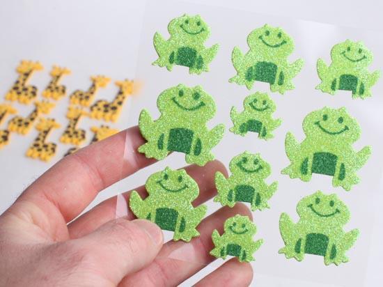 Craft Foam Frogs
