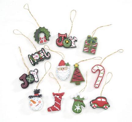 Miniature Resin Christmas Ornaments Christmas Ornaments