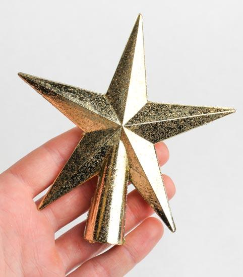 fantastical lighted christmas tree star topper toppers small